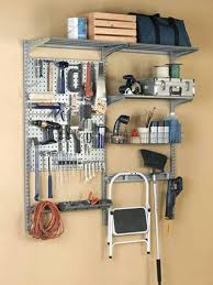 Garage Tool Organizer Rack - wall storage rack u2013 techpotter me