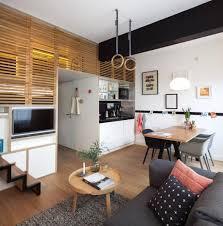 unique concept of hotel room design with micro apartment