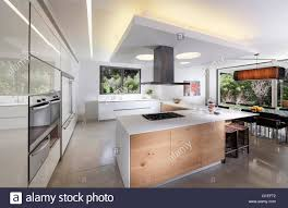 modern open plan kitchen white villa tel aviv open plan modern living room and kitchen