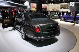 bentley mulsanne speed black naias 2015 bentley u0027s mulsanne speed is comfortable yet powerful