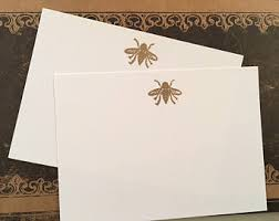 embossed note cards embossed stationery etsy