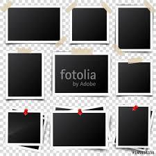 design templates photography free photo frame mockups photo card frame film set retro vintage photograph with shadow