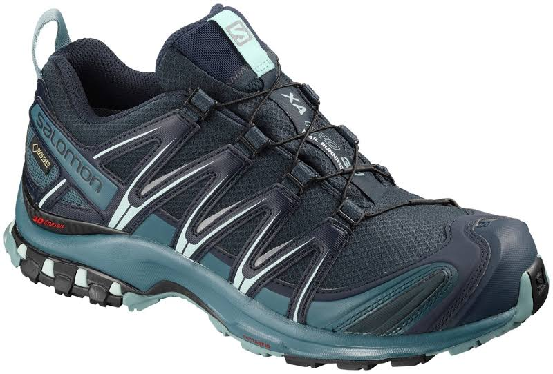 Salomon XA Pro 3D GTX Trail Running Shoe Navy Blazer/Mallard Blue/Trellis Medium 6.5 L40672300-6.5
