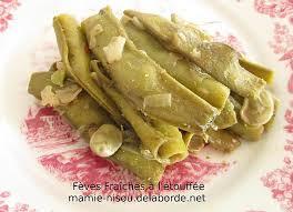 cuisiner des f钁es fraiches recette de fèves fraîches avec la gousse