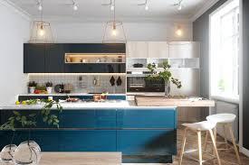 unique kitchens unique kitchens kitchen pendant lights beautiful blue to brighten