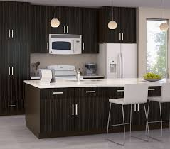 Restaining Kitchen Cabinets Darker Furniture Cozy Wooden Kitchen Armstrong Cabinets In White With