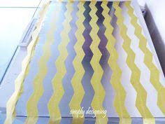 love this fabric covered magnetic board chic and practical for