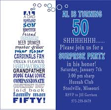 50th birthday invite wording funny funny 50th birthday party