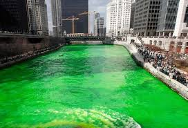 chicago prepares for st patrick u0027s day by dying the chicago river