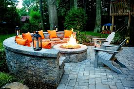 Patio Table With Built In Fire Pit - 21 amazing outdoor fire pit design ideas fire pit designs