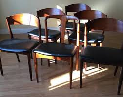 teak dining chairs etsy