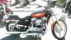 harley davidson sportster 1200 custom motorcycles for sale in los