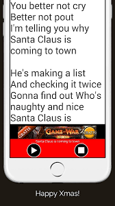 christmas carols and songs with lyrics in english android apps