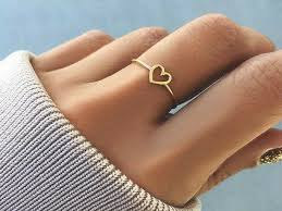 20 best simple gold ring designs for womens