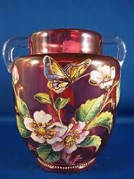 Antique Cranberry Glass Vase 210 Best Cranberry Glass Images On Pinterest Cranberry Glass