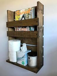 Bathroom Wall Magazine Rack Best 25 Rustic Magazine Racks Ideas On Pinterest Magazine Racks