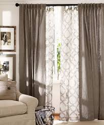 White And Brown Curtains Living Room Inspiration Living Room Curtains Ideas Curtains And