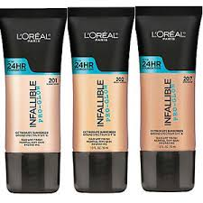 L Shade L Oreal Infallible Pro Glow 24hr Foundation Sealed