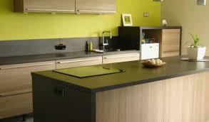 cuisine couleur bois meilleur 47 design couleur mur cuisine avec meuble bois beau