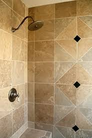 Travertine Bathroom Tile Ideas Bathroom Intersting Bathrooms Look Using Travertine Tile Shower