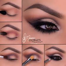 beautiful bridal tutorial using motives cosmetics love these colors for brown eyes too