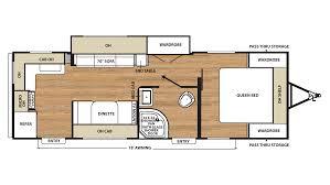 Dealer Floor Plan Rates by Catalina Sbx 261rks Travel Trailer Floor Plan