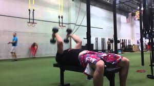 db rollback tricep extension old line crossfit youtube