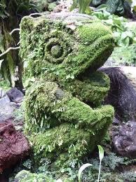 46 best moss cover sculptures images on moss garden