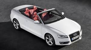 white audi a5 convertible audi a5 and s5 cabriolet 2008 official pictures by car