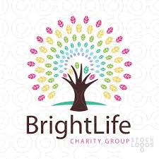 exclusive customizable logo for sale bright rainbow tree