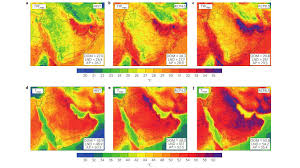 Arabian Desert Map Climate Change May Soon Make Much Of The Persian Gulf Region Too