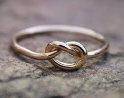 knot promise ring gold knot ring gold knot ring bridesmaid