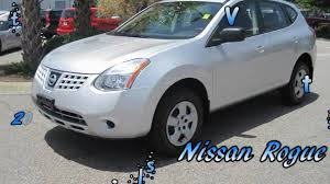 silver nissan rogue 2009 nissan rogue sl silver gets great gas mileage youtube