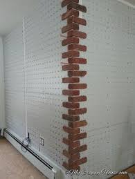 Fake Exposed Brick Wall How To Create Faux Exposed Brick Wall Using Venetian Plaster