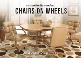 Kitchen Chairs On Wheels Swivel Dining Furniture From Kitchen Tables And More Columbus Ohio