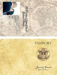Wedding Rehearsal Dinner Invitations Templates Free Passport Invitation Templates Needed Please Weddingbee