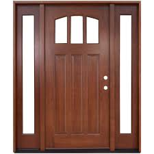 Wood Door Design by Doors With Glass Wood Doors The Home Depot