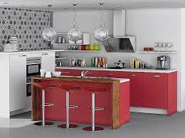bar cuisine avec rangement table haute de cuisine avec rangement pour decoration cuisine