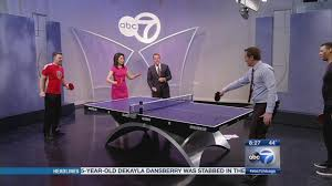 Wildfire Chicago Open Table by Unplug And Unwind With Table Tennis Abc7chicago Com