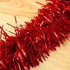 christmas tinsel 2m 6 5 ft christmas tinsel tree decorations tinsel garland