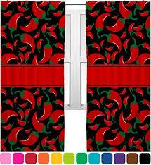 Chili Pepper Kitchen Rugs Red Chili Pepper Kitchen Curtains U2013 Red Kitchen Accessories