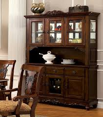 kitchen very useful buffet hutch furniture with white wall design