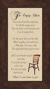 best 25 empty chair poem ideas on birthday in heaven