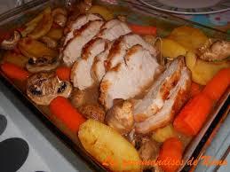 comment cuisiner roti de porc rôti de porc au four et pas sec les gourmandises de némo