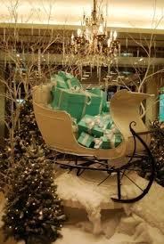 Outdoor Sleigh Decoration Outdoor Santa Sleigh Foter
