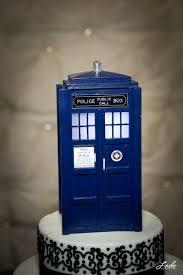 tardis cake topper handmade doctor who tardis wedding cake topper the doctor is in
