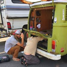 pros and cons of living in a vw bus why we chose a new van home