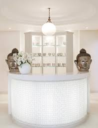 White Salon Reception Desk How To Apply Best Beauty Salon Reception Desks Ergonomic Office