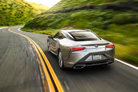 lexus electric supercar 2018 lexus lc 500 and lc 500h first test review