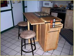 furniture small kitche using movable kitchen island and round bar